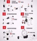 Супер упражнения для быстрой тренировки!